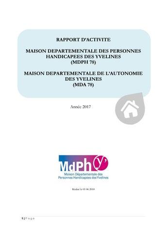 Rapport Dactivite De La Mda Annee 2017 Maj28062018 By