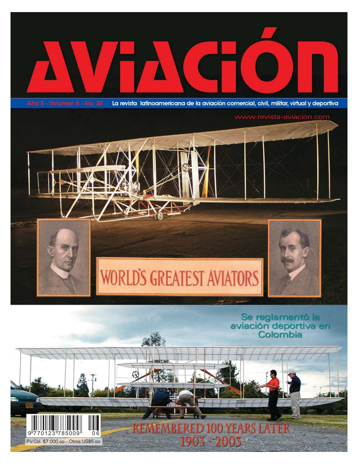 7f2e6e1784 Revista Aviación  30 by revista-aviacion - issuu