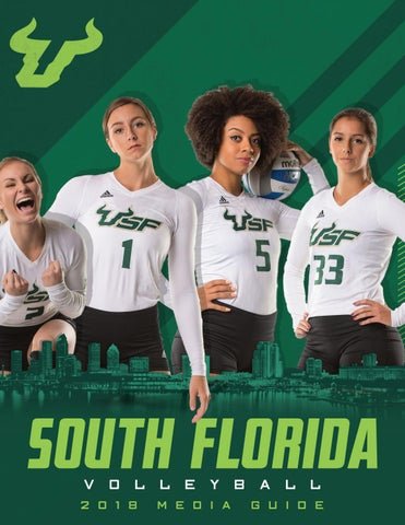 c7c4e40fb 2018 USF Volleyball Media Guide by USF Bulls - issuu