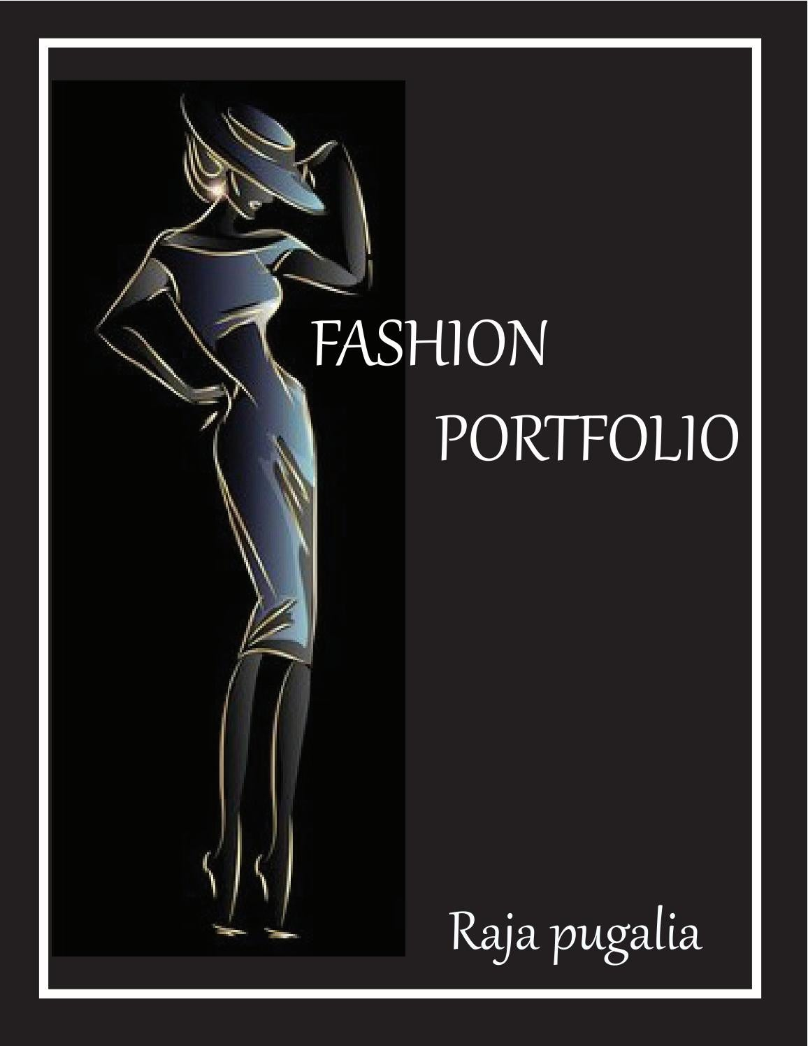 Fashion Designer Portfolio By Raja Pugalia Issuu