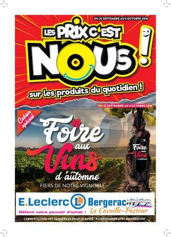 Anniversaire Centre E Leclerc De Bergerac La Cavaille By Origamiq
