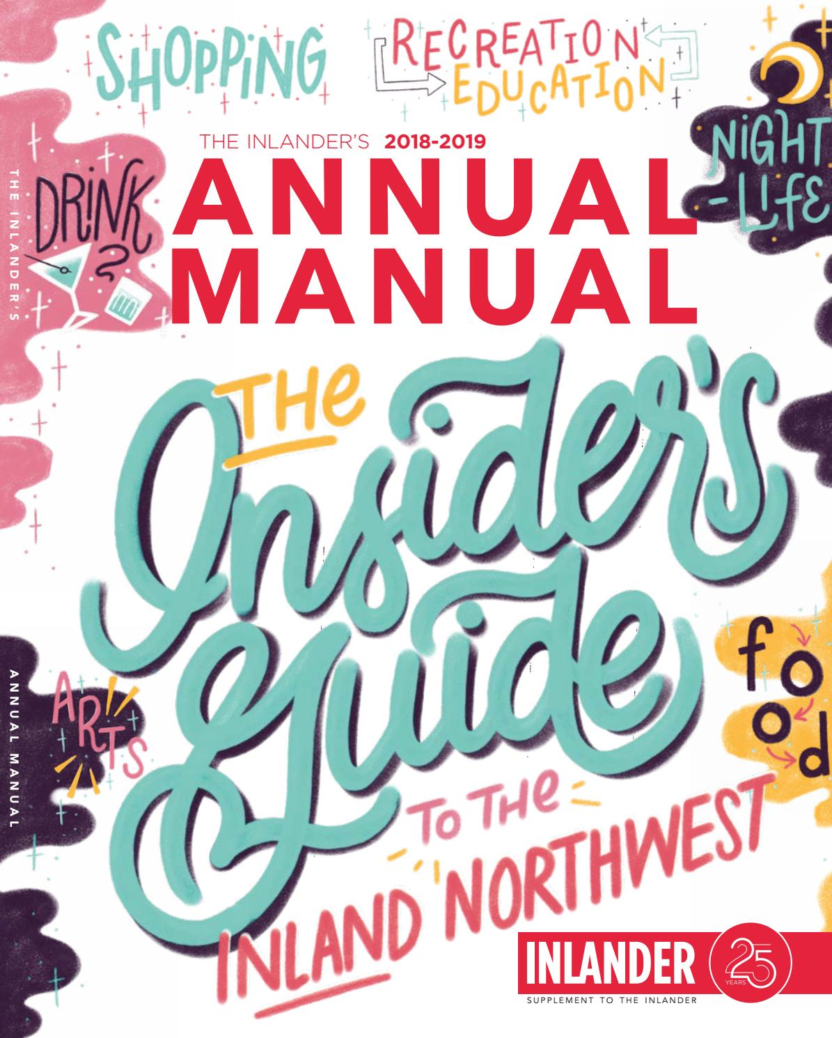 Annual Manual 9/4/2018 by The Inlander - issuu