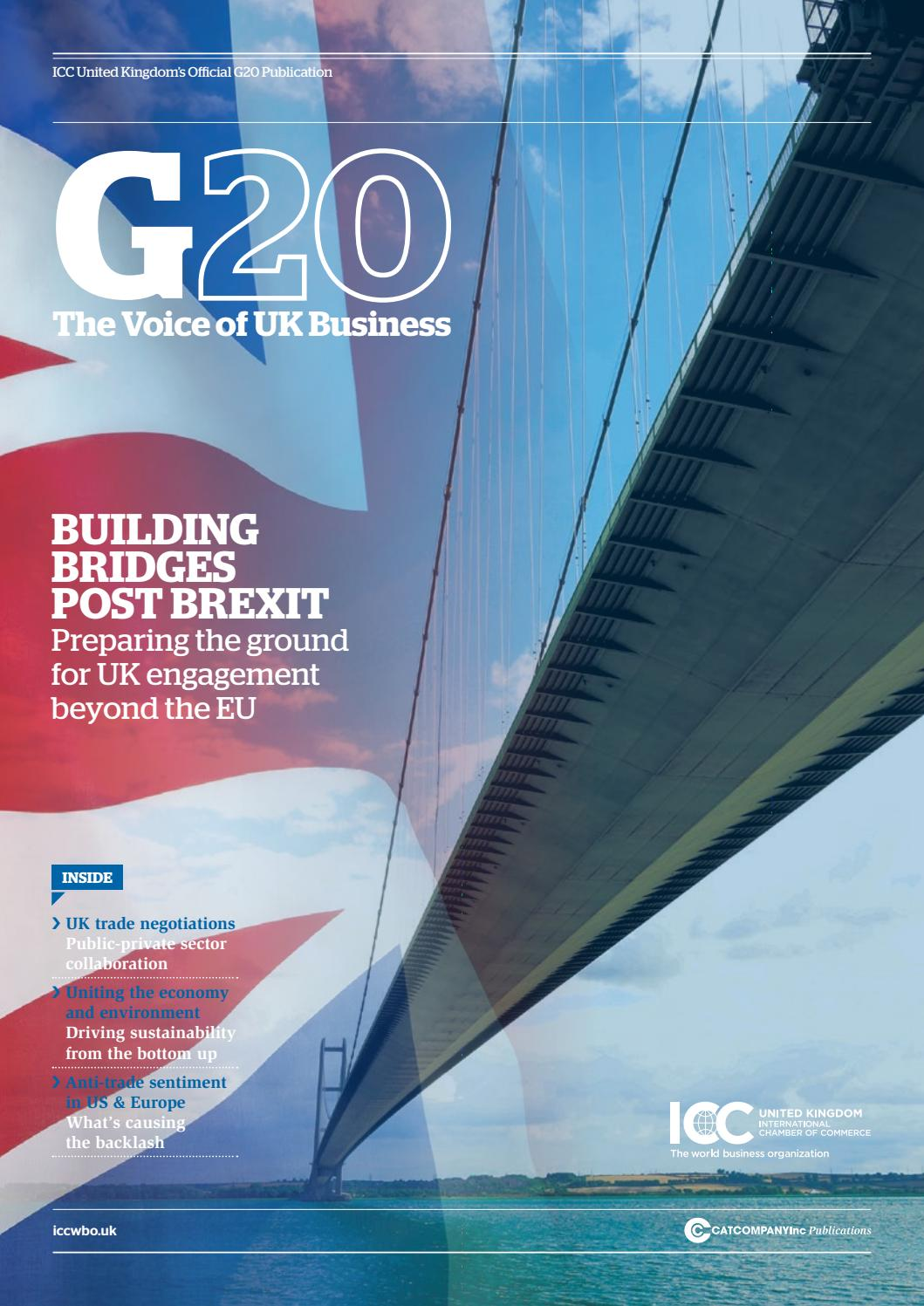 The official ICC UK G20 summit publication