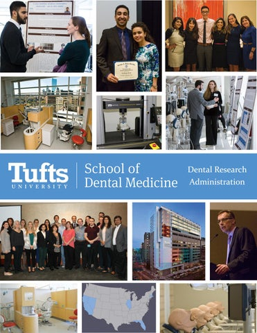 Tufts University School of Dental Medicine - Dental Research