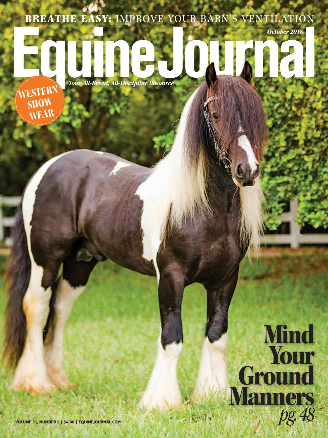 Equine Journal by Cowboy Publishing Group - issuu bf4d60d26d7e