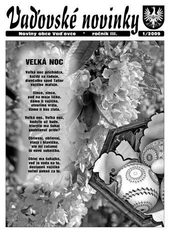 41c618fbd Vaďovské noviny 01/2009 by cmstangram cmstangram - issuu