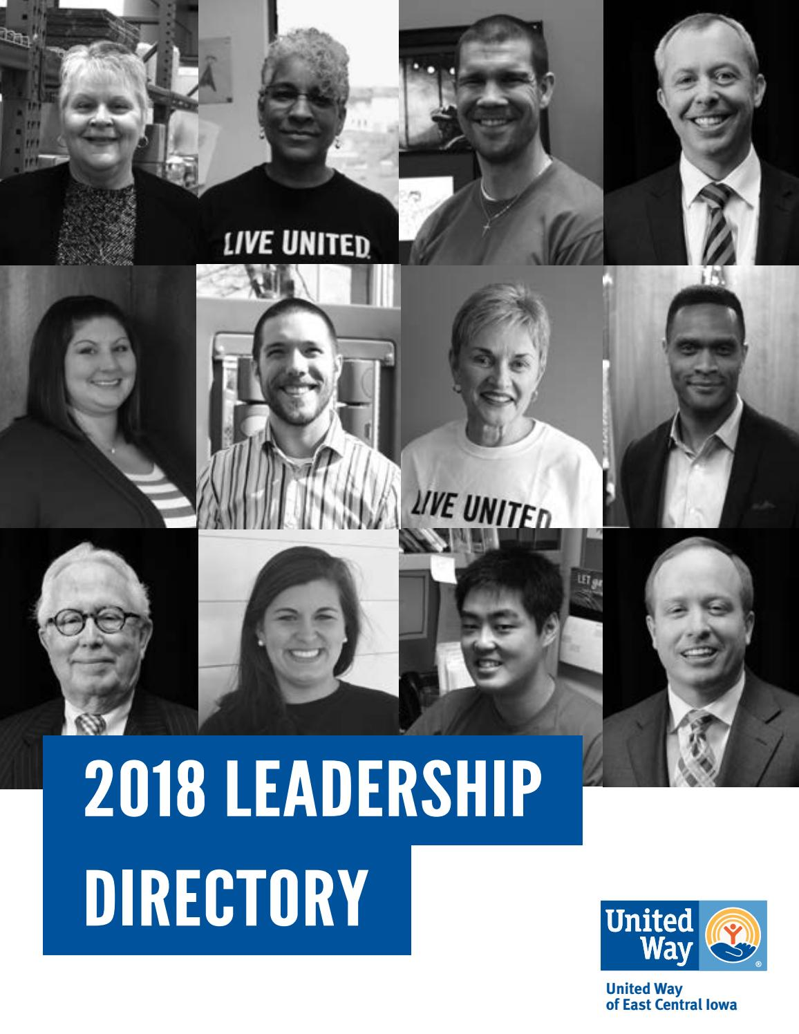 2018 leadership directory