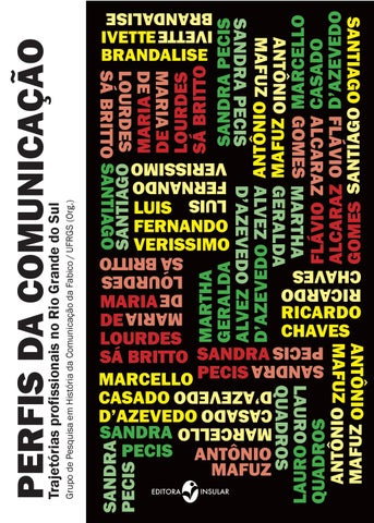 c5569b200 Perfis da comunicação by Editora Insular - issuu