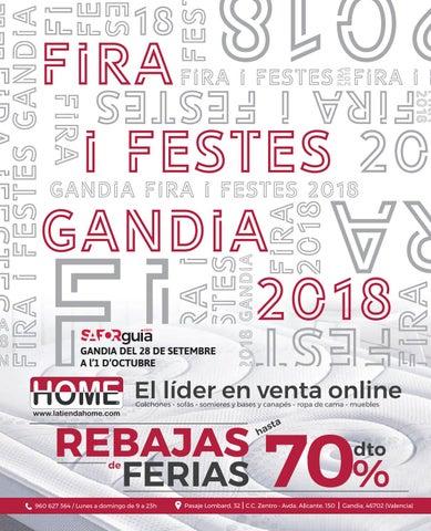 ca40cbe32d4c Extra Fira Gandia 2018