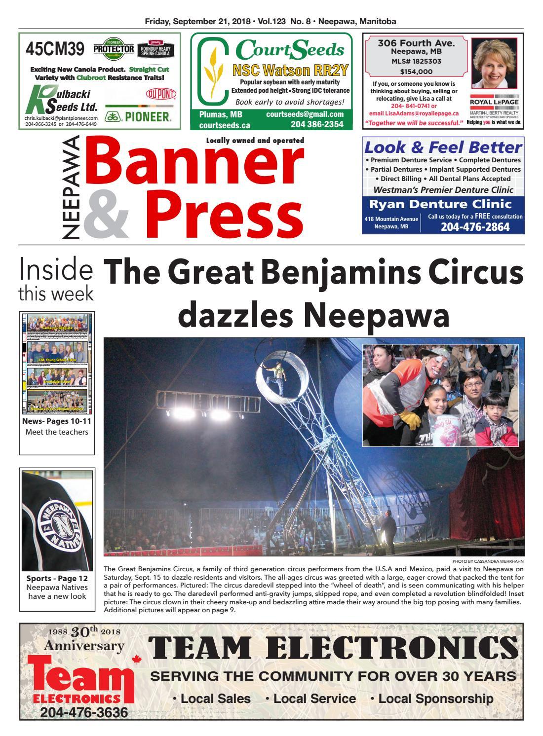 Neepawa Banner & Press - Sept. 21 edition by Neepawa Banner&Press - issuu