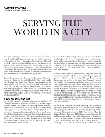 Page 20 of Serving the World In a City