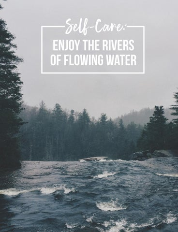 Page 32 of Self Care: Enjoy the Rivers of Flowing Water