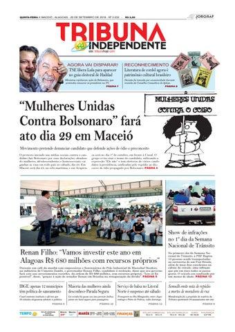 3de74fc929 Edição número 3232 - 20 de setembro de 2018 by Tribuna Hoje - issuu
