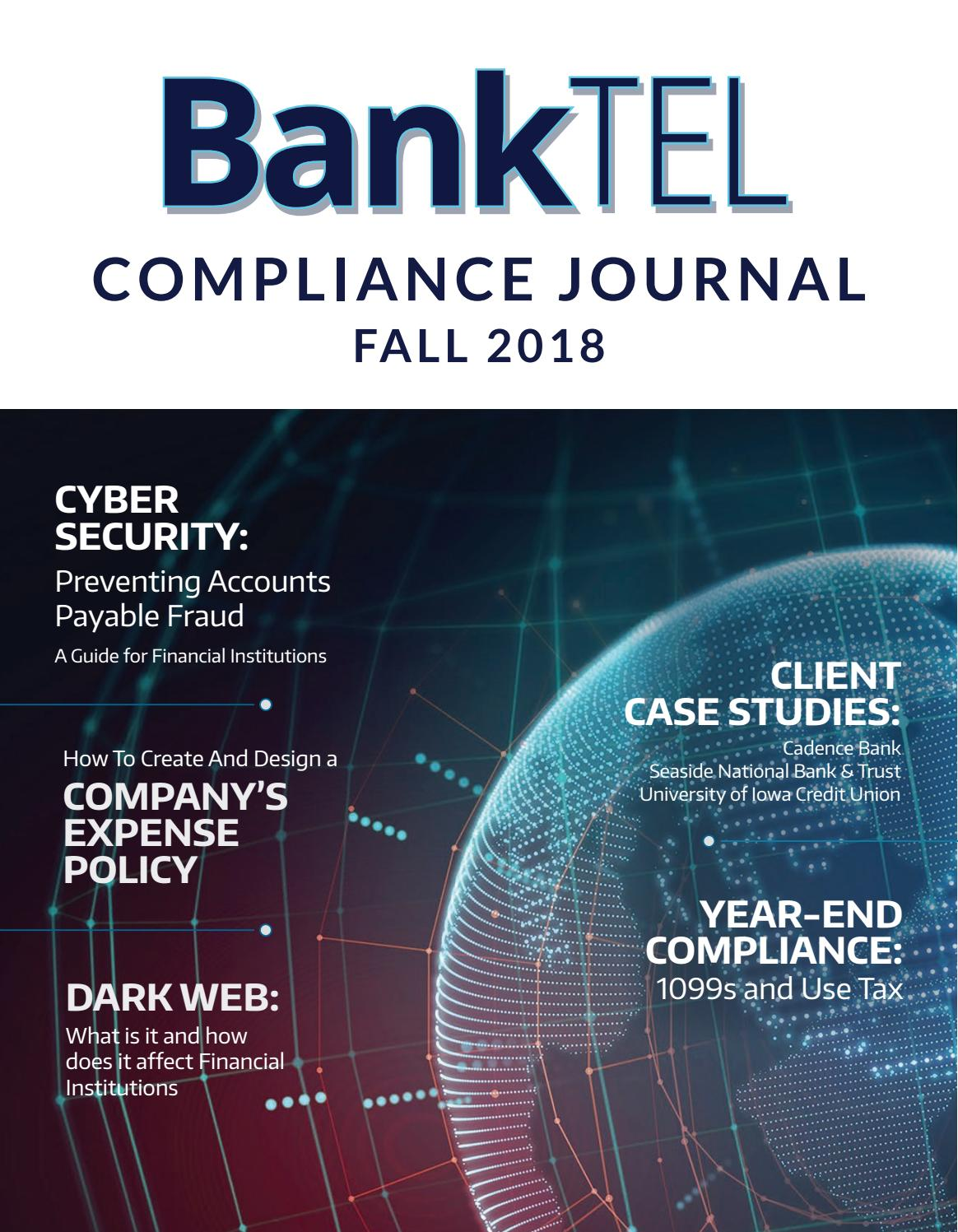 banktel compliance journal by banktel - issuu