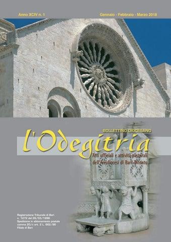 d5988c644c BOLLETTINO DIOCESANO. l´Odegitria. Atti ufficiali e attività pastorali  dell'Arcidiocesi di ...