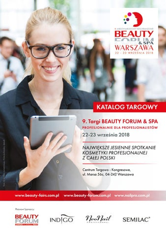 Katalog Targowy Beauty Forum Spa 2018 By Kamila Jadwicka Issuu