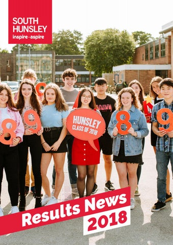 South Hunsley School Results News 2018 by South Hunsley - issuu