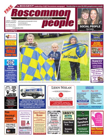 2018.09.21 by Roscommon People - issuu 4ae55ce56477