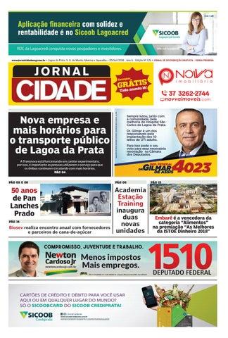 19bd8633d Jornal Cidade - Lagoa da Prata e região - Nº 126 - 20/09/2018 by ...
