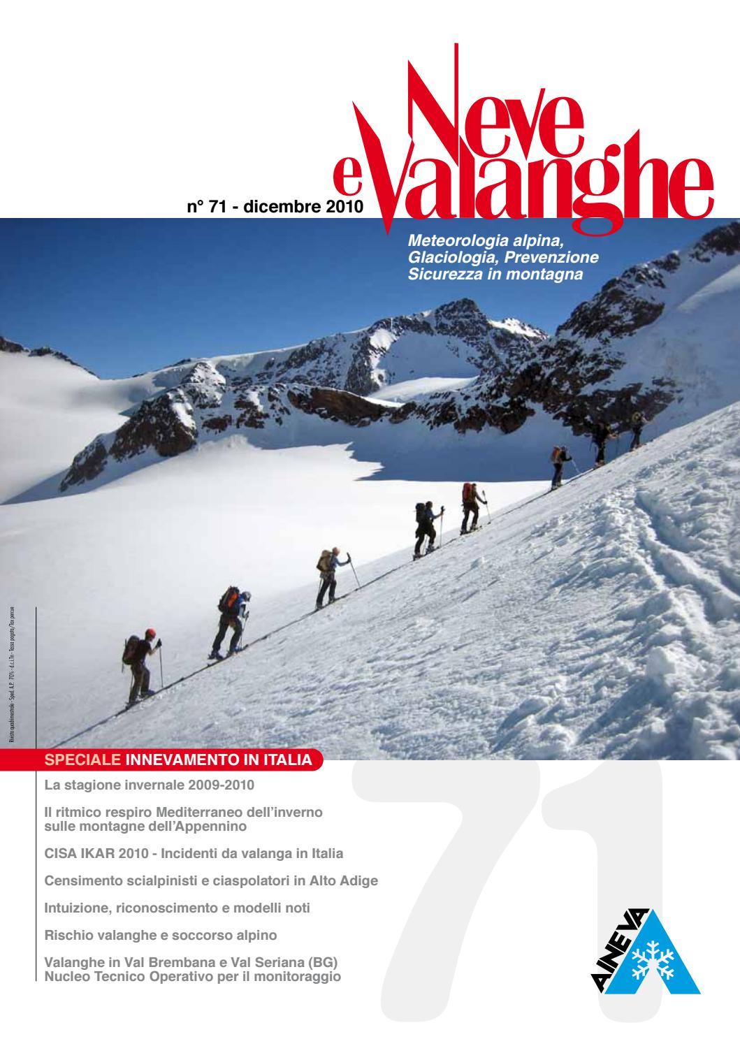 42ef52b21a55 Neve e Valanghe 71 by Aineva - issuu