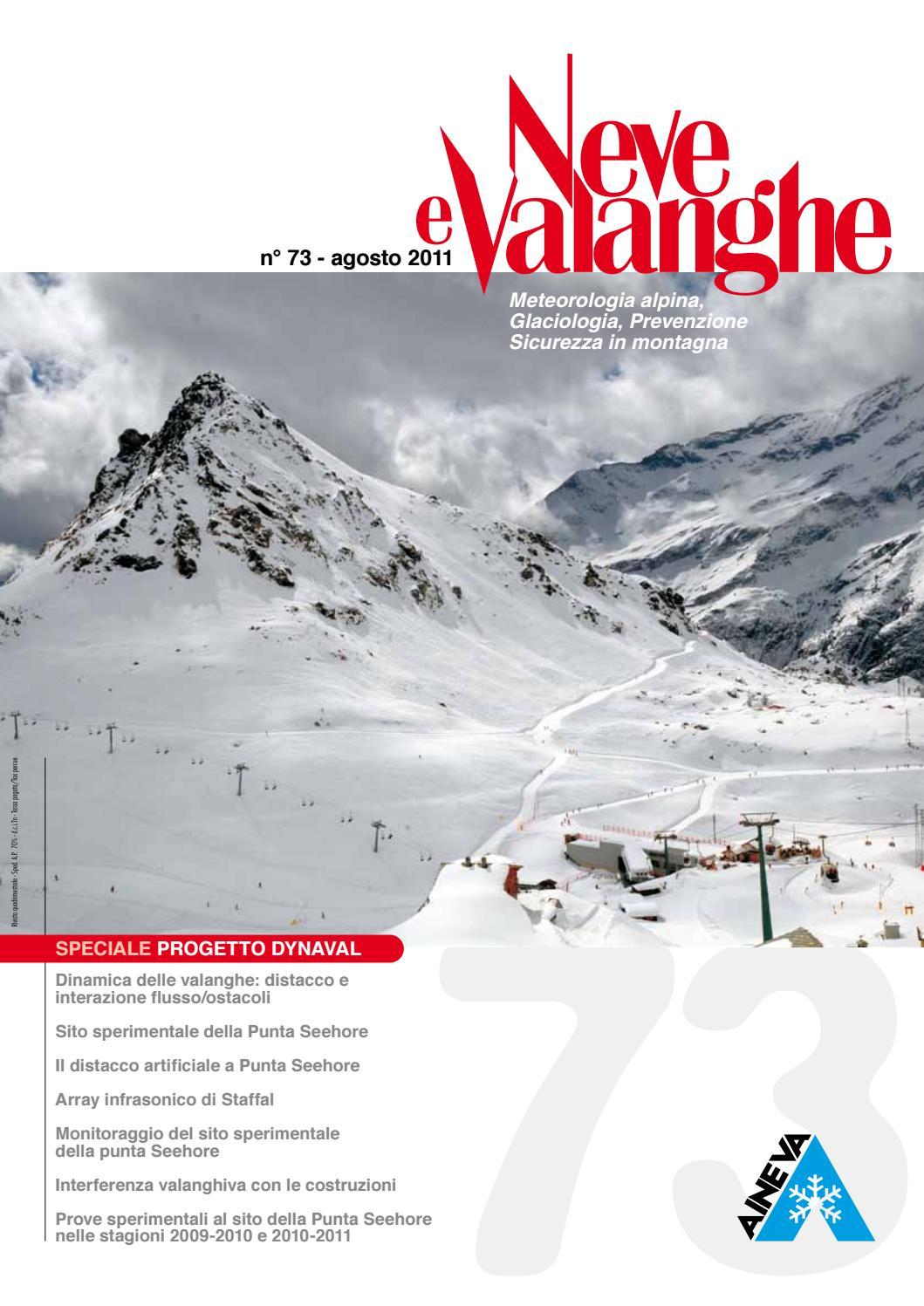 1cc4854d10 Neve e Valanghe 73 by Aineva - issuu