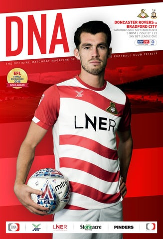 a9309ec0f81 Doncaster Rovers v Bradford City Official Matchday Magazine by Mark ...