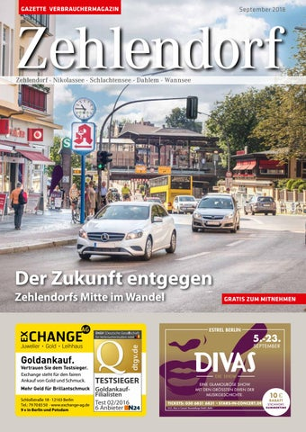 Gazette Zehlendorf September 2018 By Gazette Verbrauchermagazin Issuu