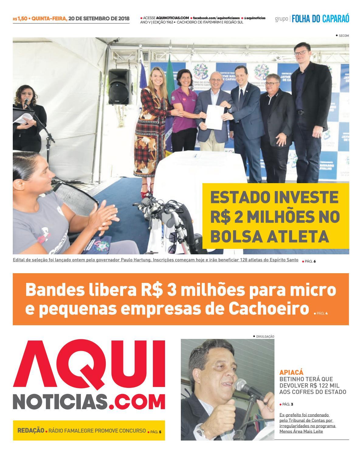 a1adcb8d1 Aqui Noticias Edição 1963 by Aqui Notícias - issuu
