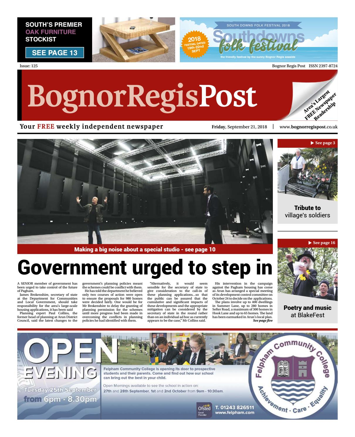 151727301ca Bognor Regis Post Issue 125 by Post Newspapers - issuu