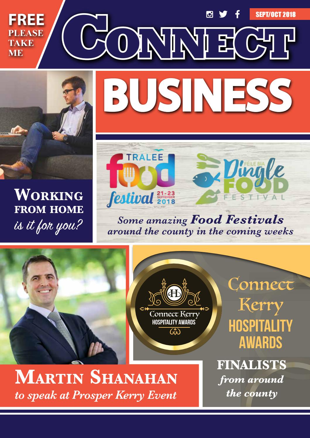 Connect Business-Sept/Oct Issue--2018 by Margaret - issuu