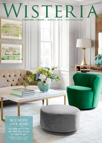 Furniture Decor M A R C H 2 0 1 8 W I S T E O