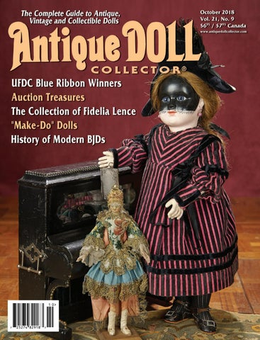 d91b98c24d0 October 2018 by Antique Doll Collector Magazine - issuu