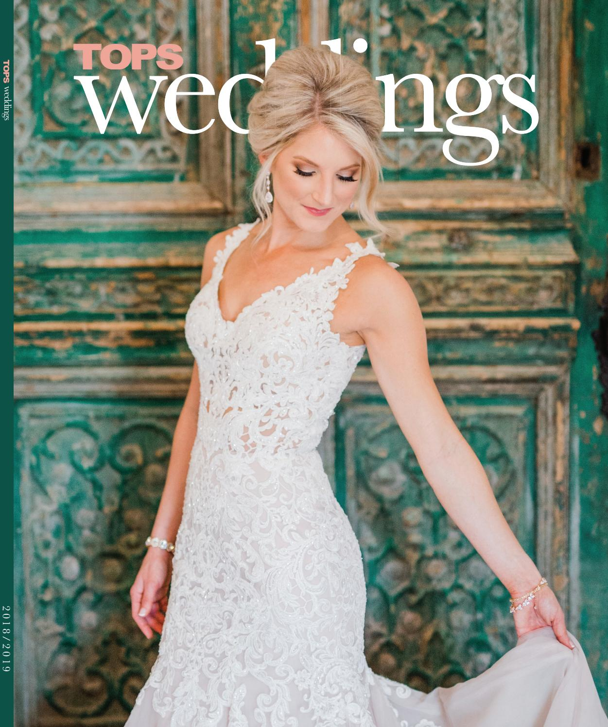 e4e673a420da3 TOPS Weddings 2018 by TOPS Magazine - issuu