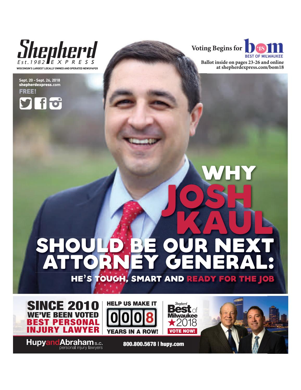 Print Edition: Sept  20, 2018 by Shepherd Express - issuu