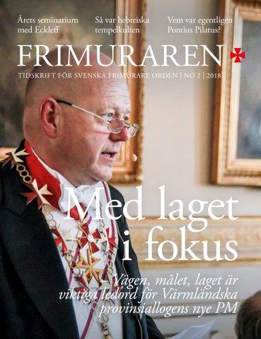 2bfce304bb8c Frimuraren nummer 2 2018 by Svenska Frimurare Orden - issuu