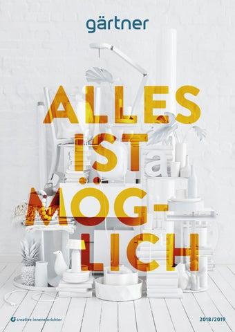 Gärtner CI Designkatalog 2018/2019 by Gärtner Internationale ...