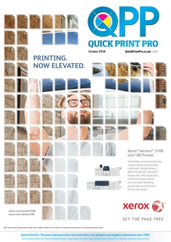 0adf7d987 Quick Print Pro, October 2017 by The Magazine Production Company - issuu
