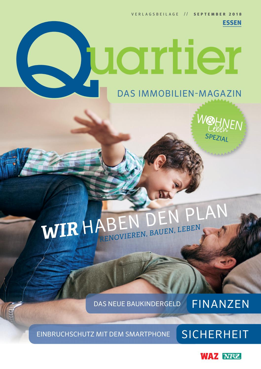 Quartier Immobilienmagazin September 2018 By Funke Redaktions