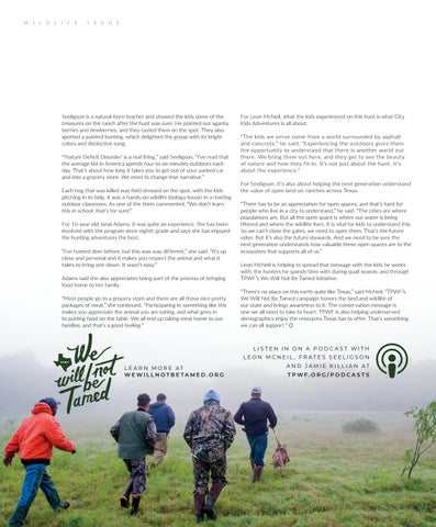 Page 56 of Celebrating Hunting and Habitat