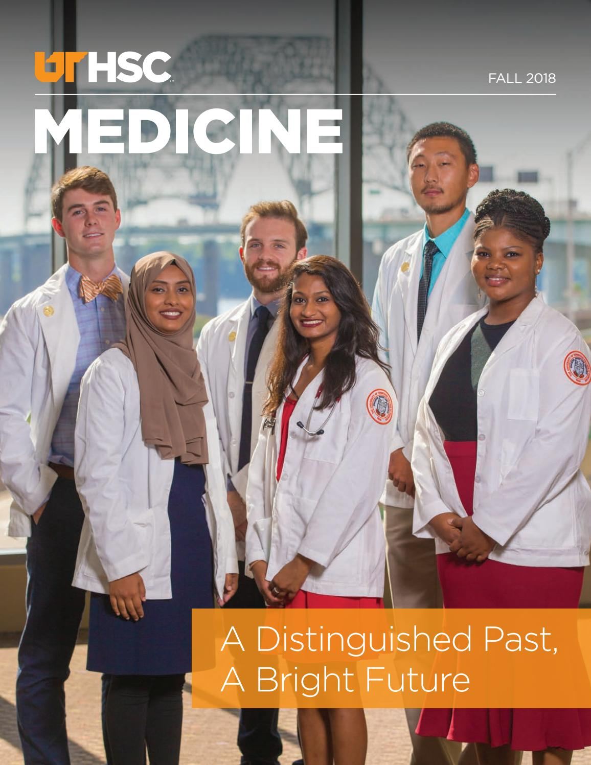 UTHSC College of Medicine Magazine - Fall 2018 by University of Tennessee  Health Science Center - issuu