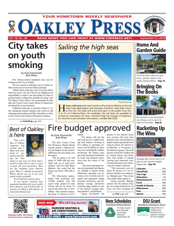 429e685da3 Oakley Press 09.21.18 by Brentwood Press   Publishing - issuu