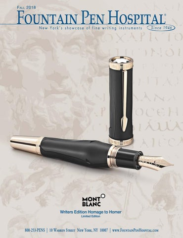 6a6f742d8e Fountain Pen Hospital Fall 2018 Catalog