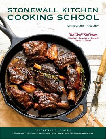 swk cooking school brochure november april by stonewall kitchen rh issuu com