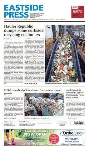 Eastside Press 09/19/18 by Enquirer Media - issuu