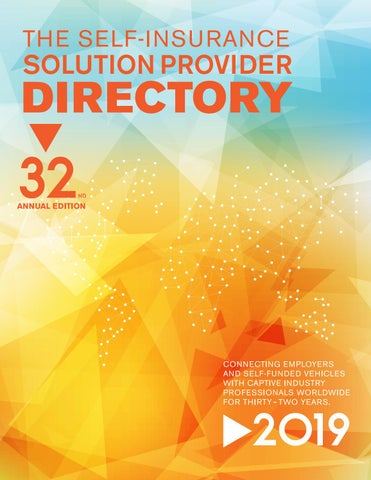 The Self Insurance Solution Provider Directory 2019 by SIPC - issuu