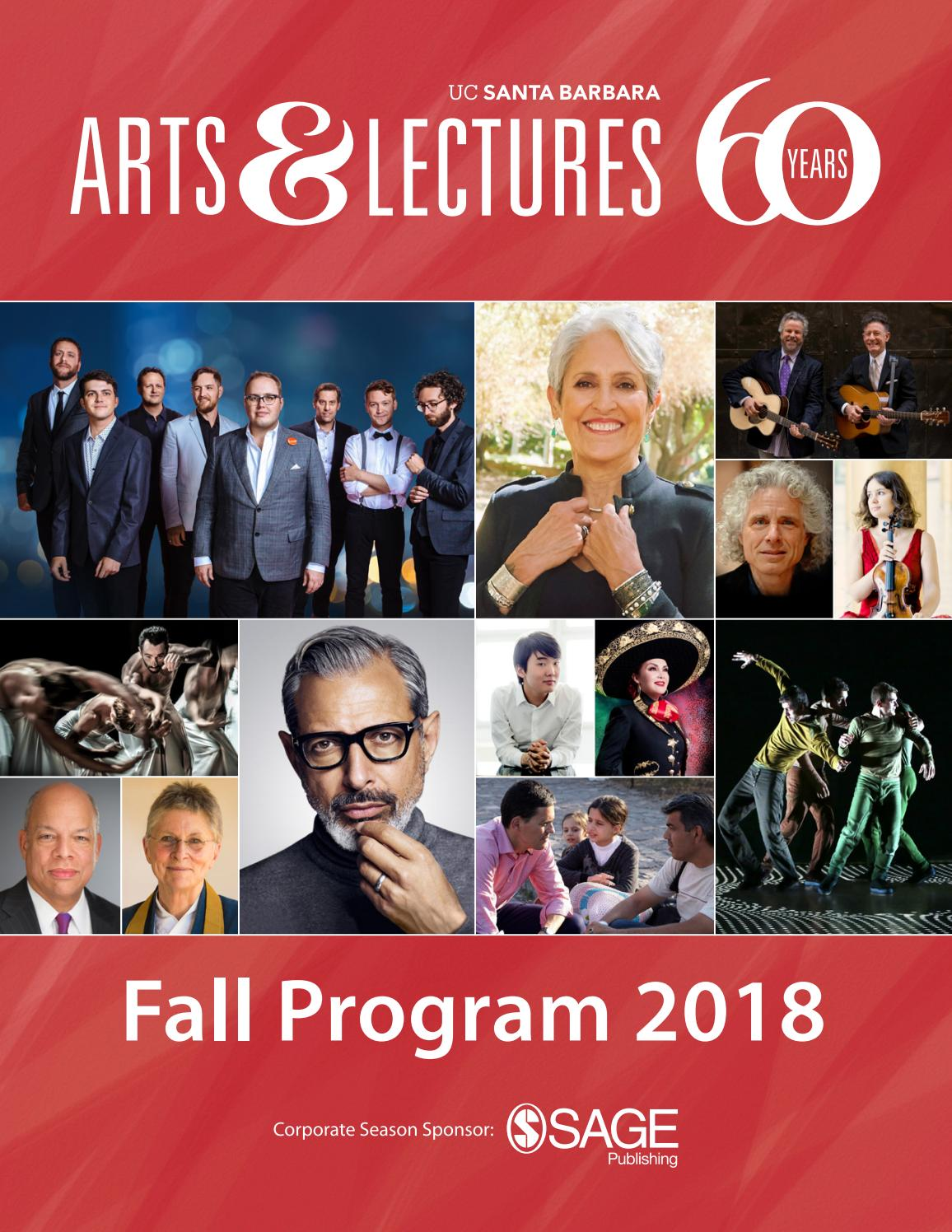 UCSB Arts & Lectures - Fall Program 2018 by UCSB Arts