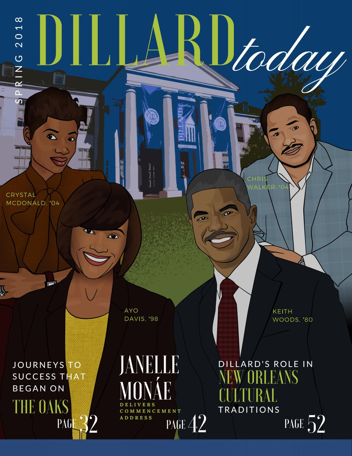 Dillard Today Spring 2018 By Dillard University Issuu