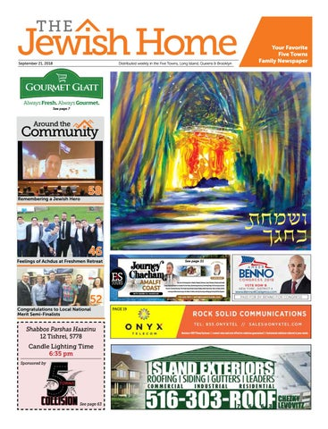 Five Towns Jewish Home - 9-20-18 by Yitzy Halpern - issuu