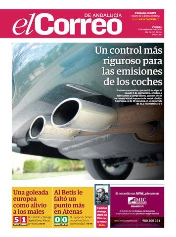 9920125c393 21.09.2018 El Correo de Andalucía by EL CORREO DE ANDALUCÍA S.L. - issuu