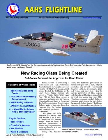 AAHS FLIGHTLINE #198 by American Aviation Historical Society